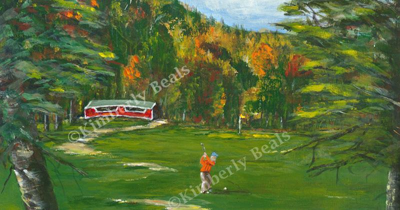 Wentworth Golf - 3rd Hole