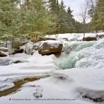 Diana's Bath Waterfall in Winter