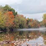 Misty Morn on the Saco River