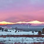 Spectacular Sunset and Mt. Washington Hotel